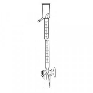 Precision Grade Buret, 10mL, 3-Way Teflon® Stopcock, Graduated (ea)
