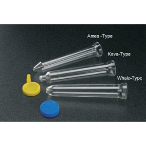 Tube, Urine Centrifuge, 12mL, with Sediment Bulb and Flared Top, PS, Graduated to 10 mL, 500/Bag