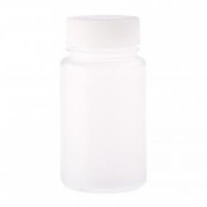 125mL Wide Mouth Bottle, Round, PP, Non-sterile (48/cs)