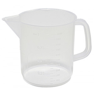 2000mL PP Beaker w/ Low Handle (12/cs)