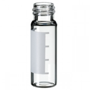 4mL Clear Threaded Vial, ID Patch, 15x45mm, 13-425 Finish (100/pk)
