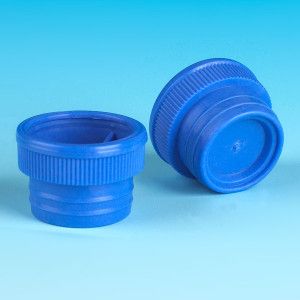Blue LDPE Stopper Cap for MP-100 (1200/cs