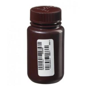 4oz Amber Nalgene WM Bottle, Certified (72/cs)