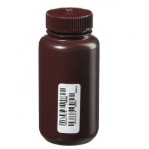 8oz Amber Nalgene WM Bottle, Certified (72/cs)
