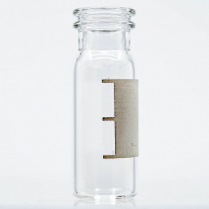 Vial, 2mL, Snap, 11mm, Clear, Patch, 12x32mm  100pk