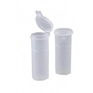 2oz Polypropylene Natural Flip Top w/ LOCK SEAL (600/cs)