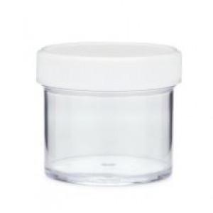 2oz Natural PP Straight Sided Jar Assembled w/53-400 F-217 Lined Cap (588/cs)
