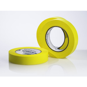 "Write-on Label Tape, 40 Yds, Yellow, 1/2"" (ea)"