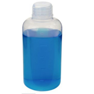 250mL Narrow Mouth Teflon PFA Bottle, 38-430 PFA Screw Thread Closure (4/cs)