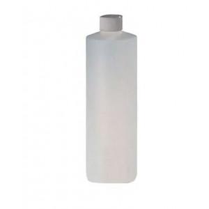 16oz Natural HDPE Cylinder Assembled w/24-410 F-217 Lined Cap (12/cs)