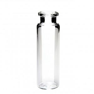20mL Clear Beveled Crimp Vial (100/pk)