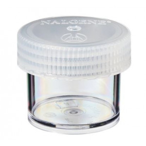 60mL Wide Mouth PPCO Straight Sided Jar, 53mm PP Screw Thread Closure (48/cs)