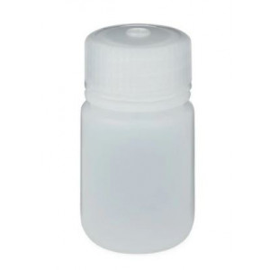 30mL Wide Mouth HDPE Bottle, 28-415 PP Screw Thread Closure {Packaging Grade} (72/cs)
