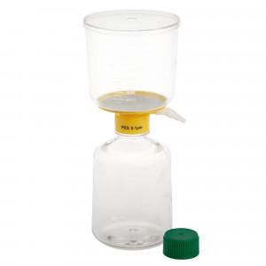 1000mL Filter System, PES Filter Material, 0.10μm, 90mm, Sterile (12/cs)