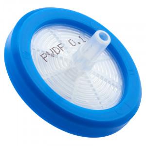 Syringe Filter, PVDF, 0.10μm, 30mm, Sterile (30/cs)
