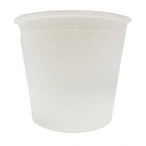 10 lb White PE Tub (100/cs)