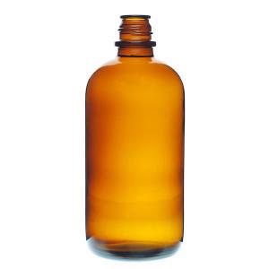 20oz Amber Pour Out Bottle w/28-430 Finish (24/cs)