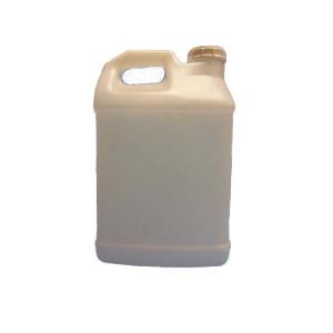 2.5 Gallon/10 Liter Natural HDPE F-Style Jug w/ 63mm Buttress Cap (24/cs)