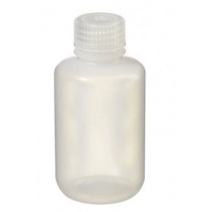 125mL Narrow Mouth LDPE Bottle, 24-415 PP Screw Thread Closure {Packaging Grade} (500/cs)