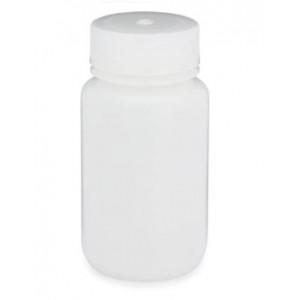 125mL Wide Mouth HDPE Bottle, 38-415 PP Screw Thread Closure {Packaging Grade} (500/cs)