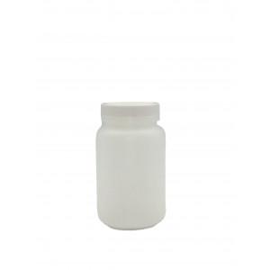 16oz/500mL Natural HDPE WM Packer,w/2.5mL 1:1 HNO3 to DI Water,Certiified (24/cs)