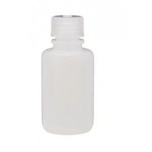 60ml Narrow Mouth HDPE Bottle, PP 20-415 Closure, Certified (72/cs)
