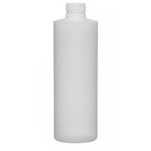 8oz Natural HDPE Cylinder Assembled w/24-410 F-217 Lined Cap (351/cs)