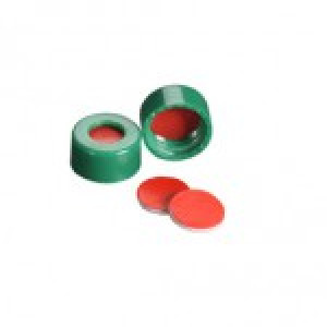 9mm AVCS Green Target DP Cap & TST Septa (100/pk)