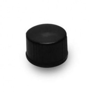 13-425 Black Phenolic Screw Cap w/PTFE Liner (200/cs)