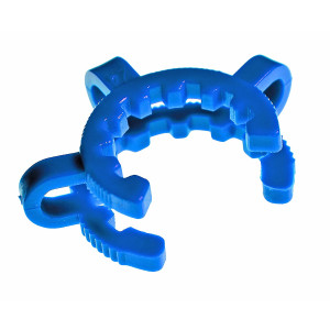 BLUE Clamp, Keck 19's..19/22 or 19/38 Standard Taper Joints (10/pk)