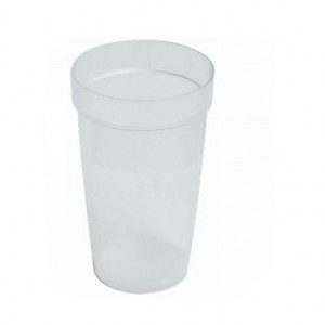 100mL Natural PP Graduated Titration Cup (500 per case)