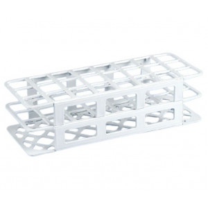 Rack, Tube, 30mm, 24-Place, PP, White