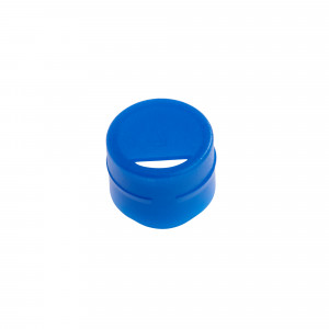 Cap Insert for NEW CryoCLEAR vials, Blue, 100/Bag