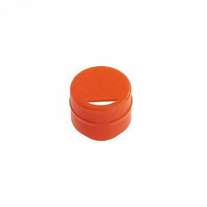 Cap Insert for NEW CryoCLEAR vials, Orange, 100/Bag