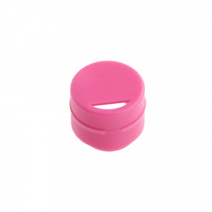 Cap Insert for NEW CryoCLEAR vials, Pink, 100/Bag