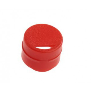 Cap Insert for NEW CryoCLEAR vials, Red, 100/Bag