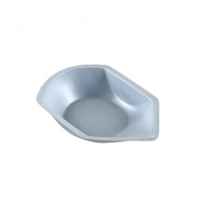 Weighing Dish, Plastic, with Pour Spout, Antistatic, 20mL, 80 x 41 x 8mm, PS, 250/Unit