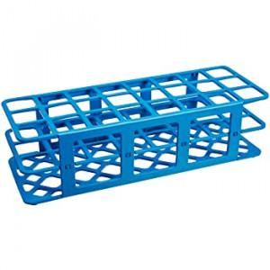 Rack, Tube, 30mm, 24-Place, PP, Blue