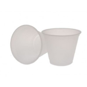Specimen Collection Cups, 3.5oz, 100/Sleeve, 25 Sleeves/Unit