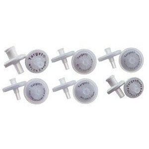 30mm, 0.45um PTFE Syringe Filter with Glass Microfiber Pre-filter,Target (100pk)