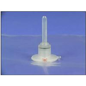 "5 Liter, 12"" X 12"" ALTEF Gas Sampling Bag with (1) Polypropylene Push/Pull Locking Combo Valve & (1) Grommet {each}"