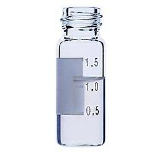 2mL, Clear Glass I-D™, 12x32mm, Flat Base, 8-425 Screw Thread Vial (100/pk)
