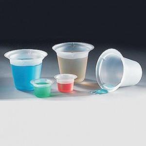 Beaker, Disposable, 50mL, PS, 500/Unit