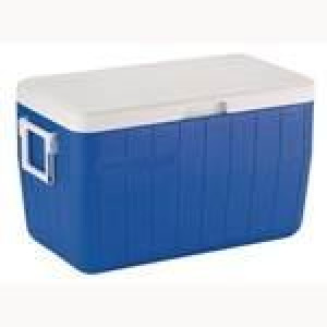 48quart Coleman Cooler OO BL No Drain C004 {Each}