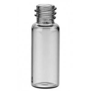 12mL Clear Screw Thread Vial 19 x 65mm, 15-425 Finish (100/pk)