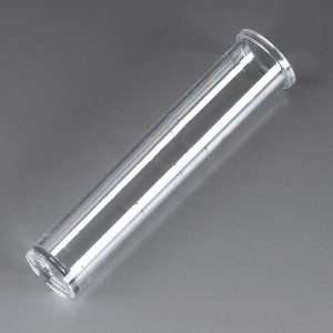 Tube, 12 x 57mm (3mL), PS, Flat Bottom, Graduated, with Rim, 1000/Unit