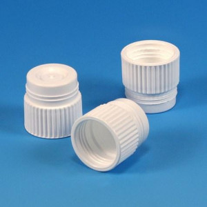 Cap, Plug, 17mm, White, 1000/Unit