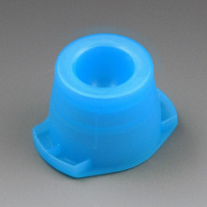 Cap, Universal, Fits most 12mm, 13mm and 16mm tubes, Blue, 1000/Unit