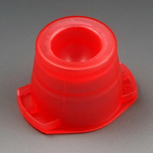 Cap, Universal, Fits most 12mm, 13mm and 16mm tubes, Red, 1000/Unit