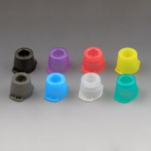 Cap, Universal, Fits most 12mm, 13mm and 16mm tubes, Yellow, 1000/Unit